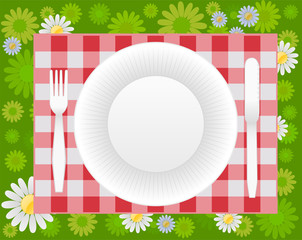 summer picnic design