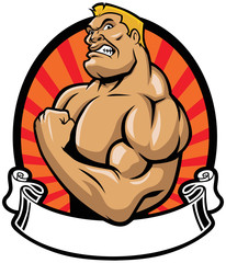 muscle bodybuilder