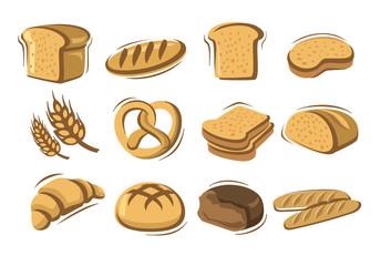 vector bread