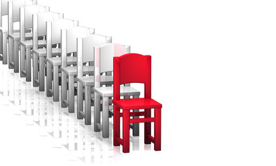 Stuhl Reihe - Chef