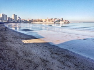 Paseo maritimo de Gijón