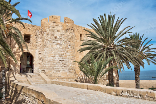 Foto op Aluminium Tunesië Citadelle du bordj Ghazi-Mustapha - Djerba, Tunisie