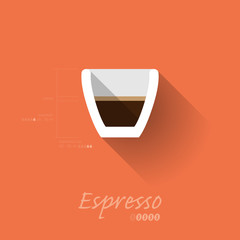 Simple Modern Espresso Manual Wallpaper