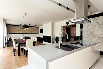 Urban apartment - elegant interior