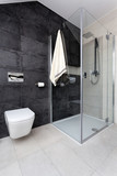 Fototapety Urban apartment - wc and shower