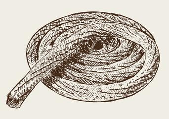 Tampen Strick Seil
