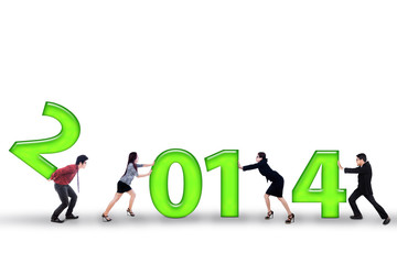 Businesspeople improve results in 2014