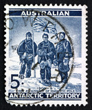 Postage stamp Australia 1961 South Pole Expedition