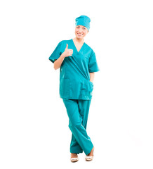 Nurse. doctor. studio