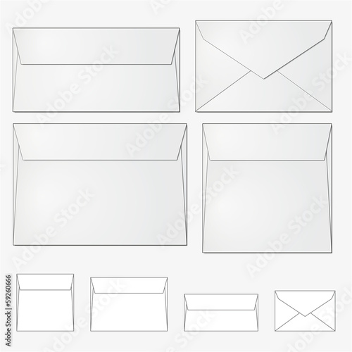 european standard kinds of envelope