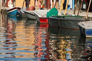 Barche a Burano - Venezia