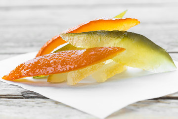Candied orange, lemon and cedar peel - frutta candita