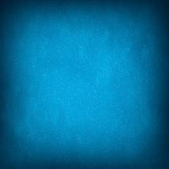 Light Blue Abstract Christmas Winter Background with Falling Sno