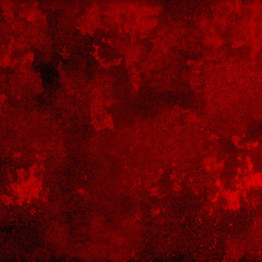 Abstract Vibrant Red Grunge Background