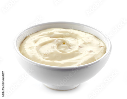 cream cheese in a white bowl