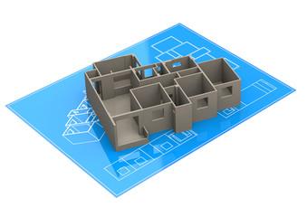 Der Gebäude-Grundriss