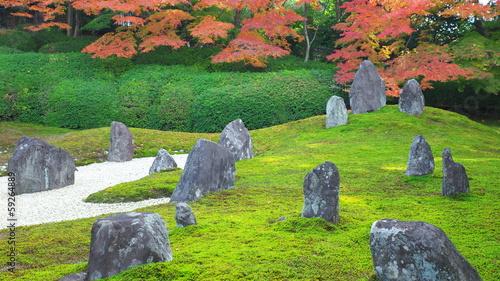 秋の光明院庭園
