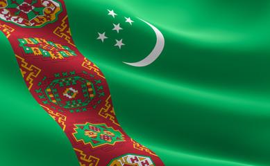 Turkmen flag