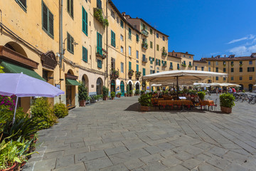 Oval Square in Lucca