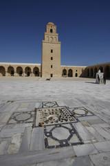 Courtyard of the Great Mosque of Kairouan