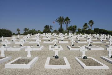 British Military cemetery in Tunisia