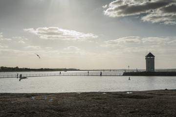 Brightlingsea promenade, Essex