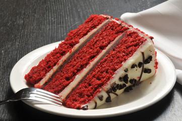 Gourmet red velvet cake