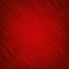 EPS10 vector circuit board background texture