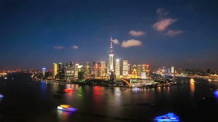 shanghai CBD time lapse