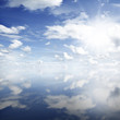 Sunshine in clouds