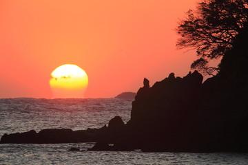 南伊豆 弓ヶ浜の朝日