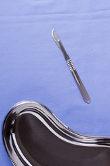 Surgical scalpel and bowl