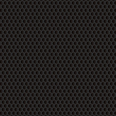 Carbon fiber background in dark color  With place for text