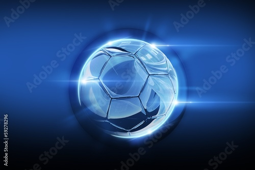 Glassy Soccer Ball