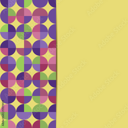 abstract geometric background.abstract background with circles.c