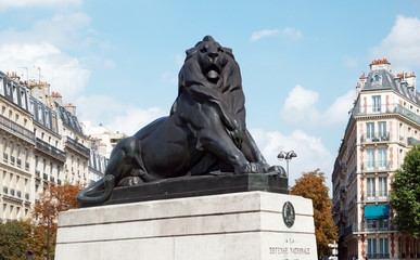 Paris, lion de Belfort