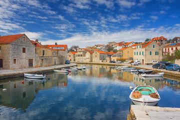 Vrboska. Hvar island. Croatia.