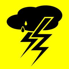 symbol thunderstorm