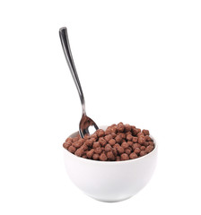 Oats chocolate cereal.