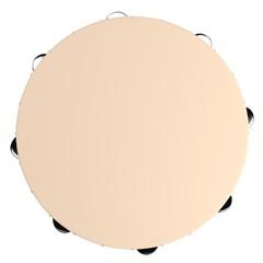 realistic 3d render of tambourine