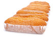 magdalenas largas, typical spanish plain muffins
