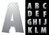 hard metal alphabet1