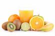 fruit juice isolated