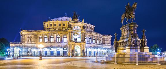 Dresden, Germany at Theaterplatz