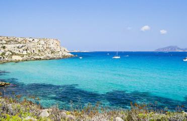 Favignana - Wonderful island of the Egadi in Trapani, Sicily