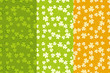 St.Patrick's Day Seamless Backgrounds Set