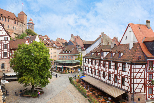 Nuremberg in Bavaria, Germany