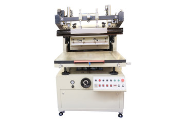 The image of a professional polygraphic machine