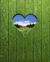 Herzerl mit Ausblick