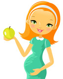Pregnancy: healthy food